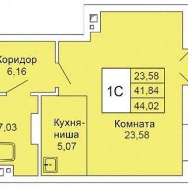 1КОМН44М2